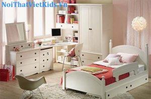 Giường ngủ đẹp dành cho bé gái