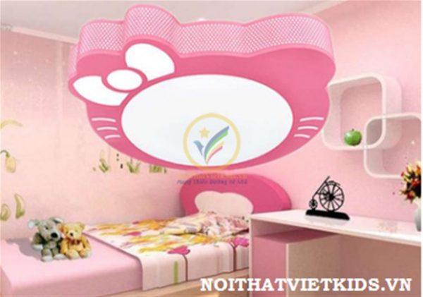 Đèn ốp trần cho bé gái hình Hello Kitty