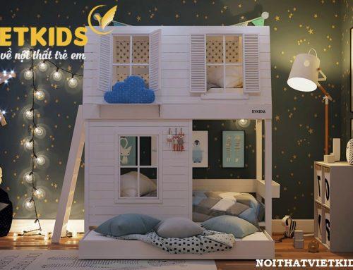 Thiết kế giường tầng siêu đáng yêu