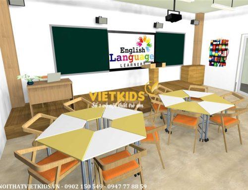 Cung cấp nội thất trường học – bàn ghế học sinh trường học liên cấp