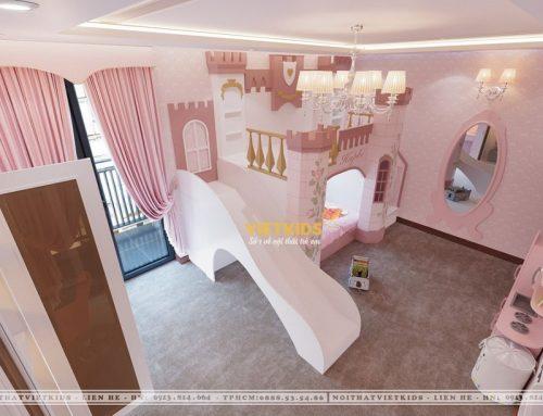 20+ Mẫu Giường Tầng Cầu Trượt Độc Đáo & Đáng Yêu