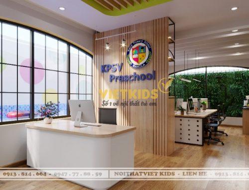 Thiết kế nội thất trường mầm non đẹp tại TP.HCM